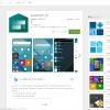 Androidのホーム画面をWindows10 Mobileぽくするアプリ